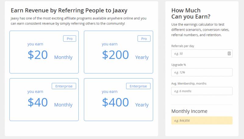 Jaaxy Affiliate Program